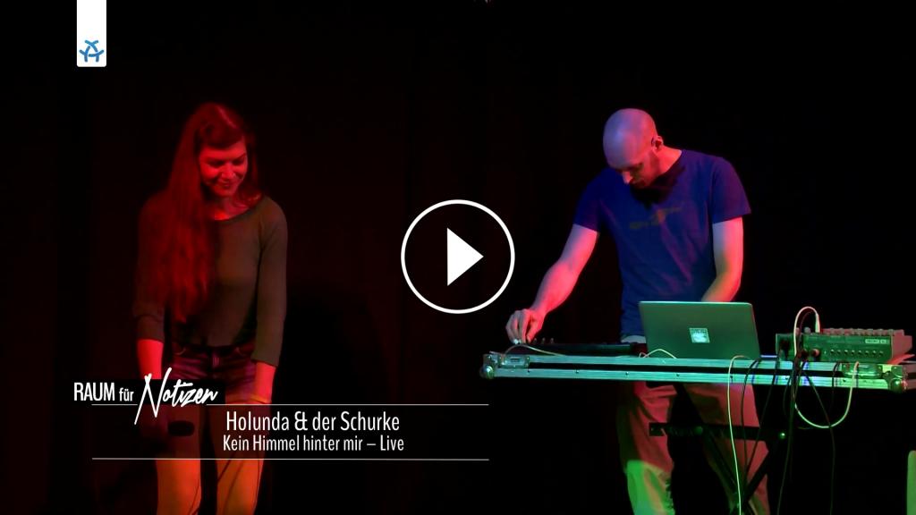 Holunda & der Schurke bei ALEX TV - Raum für Notizen